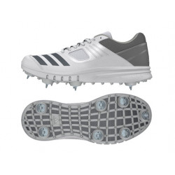 Adidas Howzat Junior Spike Shoes - Grey
