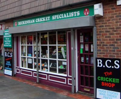 Beckenham Cricket Specialists Shop